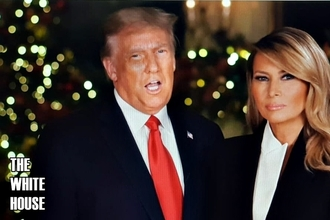 [NEWSinPhoto뉴스인포토닷컴/#Trump Christmas Greeting ]트럼프 대통령 '인류 역사상 가장 위대한 기적'에 대해 하나님께 감사드린다!.....크리스마스 인사!. Thanks God, for 'the greatest miracle in human history'!..... President Trump Christmas greetings!. 20201224.