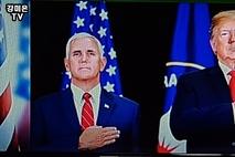 "[NEWSinPhoto뉴스인포토닷컴/ #U.S Presidential Fraud Election]마이크 펜스 ""1월6일 선거인단 투표 거부 의원들 환영한다!…….미합중국 수정 헌법 12조에서 마이크 펜스의 역할 막대함 명시!.20210105."